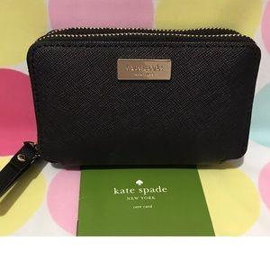 NWT-Kate Spade Rosie Laurel Way Double Zip Wallet